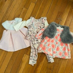 3-6 months baby girl bundle! Cat & Jack and JS